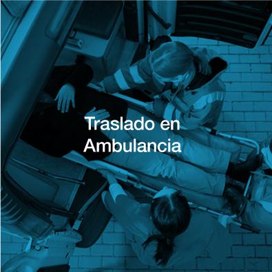 Traslado ambulancia