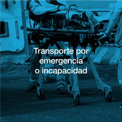 Transporte emergencia